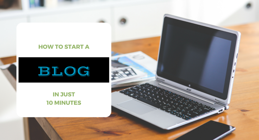 How To Start A WordPress Blog In Minutes